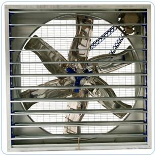 100x100 - 140x140 tavukçu tipi kümes ve çiftlik havalandırma fanı al-fan